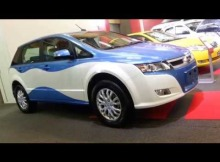 BYD E6 Electrico 2015 Video Exterior Colombia